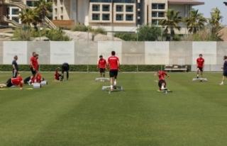 Antalyaspor çift antrenman yapacak