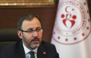 Bakan Kasapoğlu'ndan, Galatasaray Başkanı Cengiz'e...