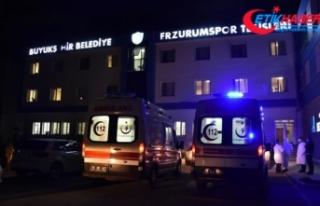BB Erzurumspor'da 4'ü futbolcu 11 kişinin...