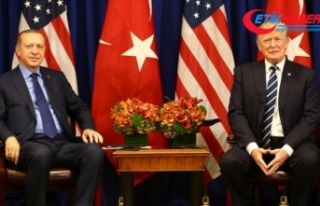 Cumhurbaşkanı Erdoğan, ABD Başkanı Trump ile...