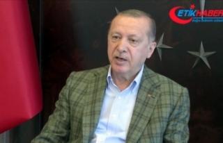 Cumhurbaşkanı Erdoğan: Türkiye'de gençler...