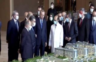 Cumhurbaşkanı Erdoğan, Başakşehir Çam ve Sakura...