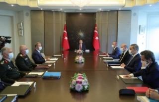 Cumhurbaşkanı Erdoğan başkanlığında Güvenlik...