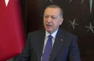 Cumhurbaşkanı Erdoğan, Irak Cumhurbaşkanı Berham...