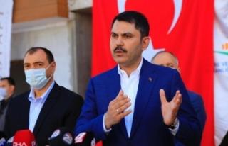 """""""Deprem konutlarının Elazığ ve Malatya'daki..."""