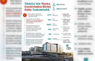 """Erdoğan'dan """"Başakşehir Çam ve Sakura Şehir..."""