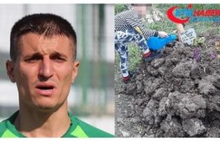 Eski Süper Lig topçusu, 5 yaşındaki oğlunu nasıl...
