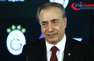 Galatasaray Kulübü Başkanı Mustafa Cengiz beyin...