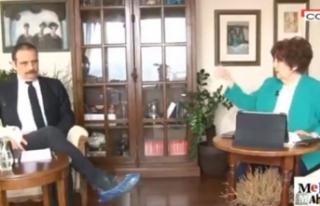 Halk TV sunucusu Ayşenur Arslan TRT'yi karalamaya...