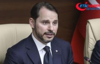 Hazine ve Maliye Bakanı Albayrak: Yılı pozitif...