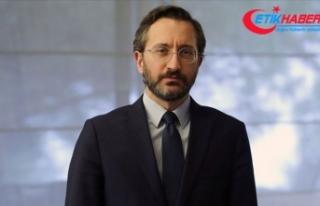 İletişim Başkanı Altun Türkiye'nin koronavirüsle...