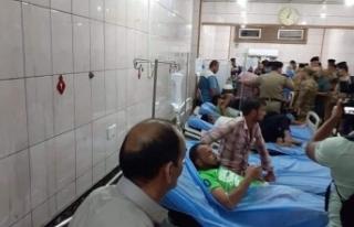 Irak'ta iftar yemeğinde 50 kişi zehirlendi