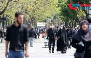 İran'da Kovid-19 nedeniyle hayatını kaybedenlerin...