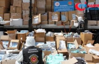 İstanbul'da 2 milyonu aşkın tıbbi koruyucu...