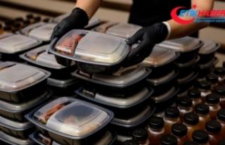 Kapıya yemek servisleri yüzde 45 talep artışı...