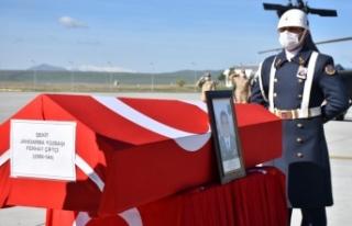 Kars'ta şehit olan Bölük Komutanı Yüzbaşı...