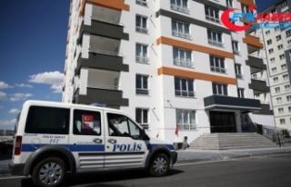 Kayseri'de 52 daireli bina Kovid-19 nedeniyle...