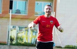 """Kayserispor forveti Muris Mesanovic: """"Gol atmayı..."""