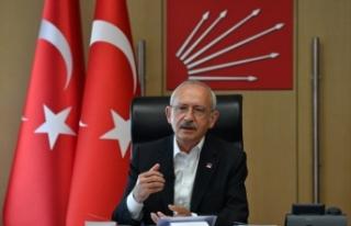 Kılıçdaroğlu, veteriner hekimlerle video konferansla...