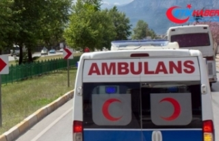 Kiralık ambulansla yazlığa gittiler