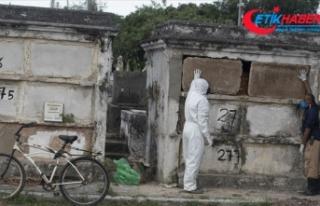 Latin Amerika'da Kovid-19 salgınının merkez...