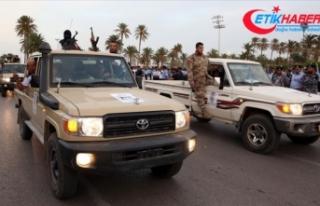 Libya ordusu Esabia beldesini Hafter milislerinden...