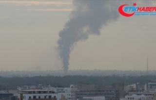 Libya ordusu hava unsurları Hafter milislerine ikmal...