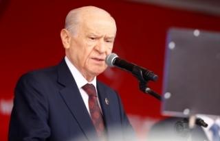MHP Lideri Bahçeli: Masa; masaldır, maval okumaktır