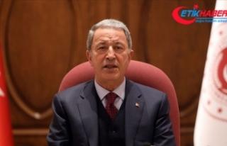 Milli Savunma Bakanı Akar: Suriye ve Irak'ın...