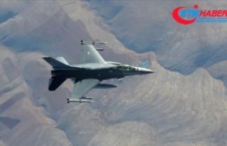 MSB: Irak'ın kuzeyinde 3 terörist hava harekatıyla...