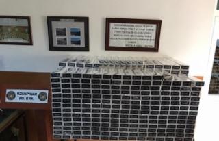 "MSB: ""6 bin 578 paket kaçak sigara ele geçirildi"