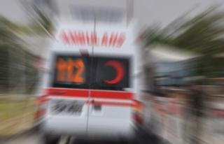 Özel ambulansla yazlığına gitti korona virüs...