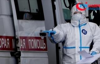 Rusya'da Kovid-19 vaka sayısı 262 bini geçti