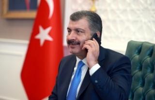 Sağlık Bakanı Koca, ABD'li mevkidaşı Azar ile...