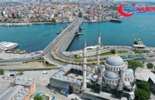 Sokağa çıkma kısıtlamasının ilk gününde İstanbul...