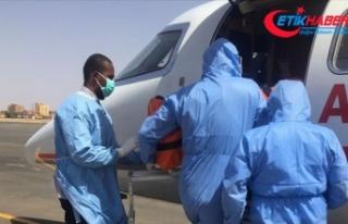 Sudan'da Kovid-19 tanısı konulan Türk vatandaşı...