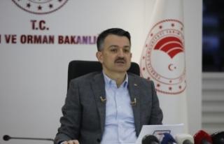 """""""Tarım Orman Akademisi""""nde ilk dersi Bakan Pakdemirli..."""