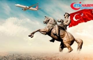 THY'nin 19 Mayıs özel uçuşu için 2,5 milyonu...