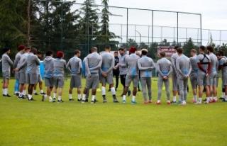 Trabzonspor kuvvet çalıştı