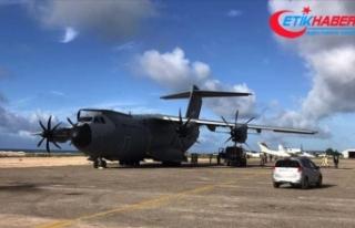 Türkiye'nin tıbbi yardım malzemeleri Somali'ye...
