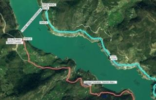 Türkiye'nin en uzun ekoturizm yolu Artvin'de...