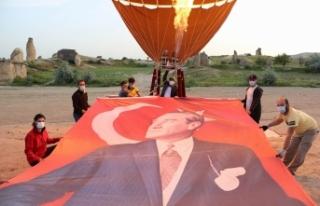 Türkiye'nin ilk yerli balonu Atatürk ve Türk...