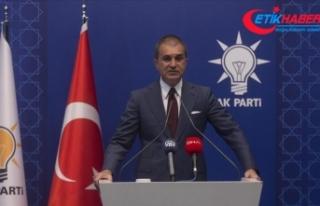 AK Parti Sözcüsü Çelik: Sayın Macron'a ifade...