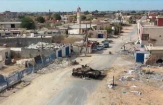 Libya ordusu: Hafter milisleri Sirte'ye girişi...