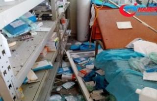 BAE'ye ait İHA'lar hastaneye saldırdı