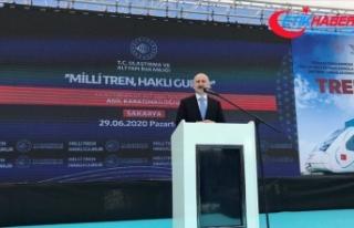Bakan Karaismailoğlu: Milli elektrikli tren bu yıl...
