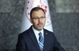 Bakan Kasapoğlu, 2021 yılındaki spor organizasyonlarında...