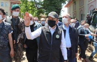 Bakan Pakdemirli: Bursa'daki selde zarar gören...