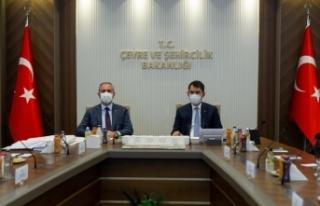 Bakanlar Gül ve Kurum yeni Ankara Adliyesi ile ilgili...