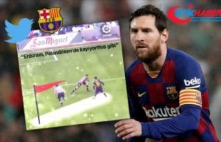 Barcelona'nın 'Messili Palandöken'...